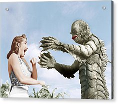 Creature From The Black Lagoon Acrylic Print