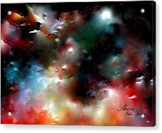 Crystal Universe Acrylic Print by Sherri's Of Palm Springs