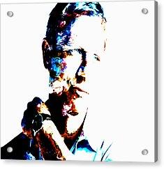 Daniel Craig 007 Acrylic Print by Brian Reaves
