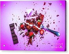 Death By Chocolate Acrylic Print