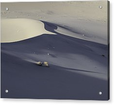Death Valley Sand Dune At Sunset Acrylic Print