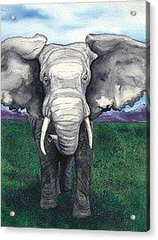Defiant Acrylic Print by Brazen Edwards