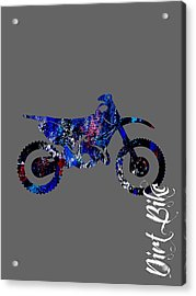 Dirt Bike Collection Acrylic Print by Marvin Blaine