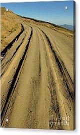 Dirt Road Winding Acrylic Print by Sami Sarkis