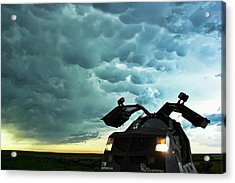 Dominating The Storm Acrylic Print