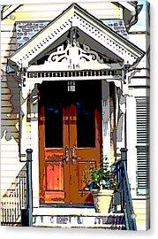 Door Series Acrylic Print by Ginger Geftakys