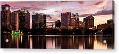 Downtown Orlando Acrylic Print