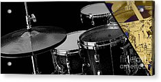 Drums Collection Acrylic Print