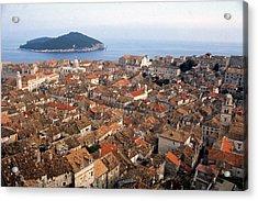 Dubrovnik Croatia Acrylic Print by Erik Falkensteen