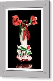 Duende Flamenco Acrylic Print