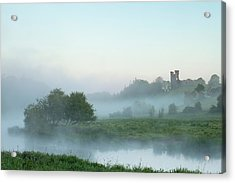 Dunmoe Castle County Meath Acrylic Print