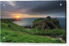 Dunnottar Castle At Sunrise Acrylic Print