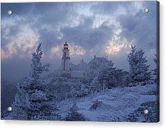 East Quoddy Lighthouse 36 Below Acrylic Print