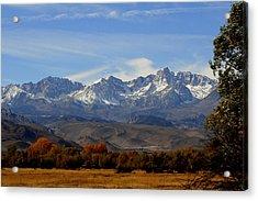 Eastern Sierras Acrylic Print