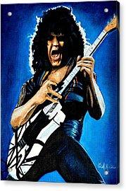 Eddie In Action Acrylic Print