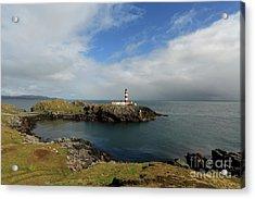 Eilean Glas Lighthouse Acrylic Print