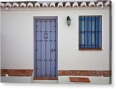 El Acebuchal, The Lost Village Or Ghost Acrylic Print by Panoramic Images