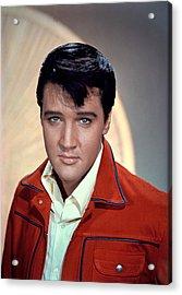 Elvis Presley Acrylic Print by Everett
