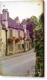 Acrylic Print featuring the photograph English Village by Jill Battaglia