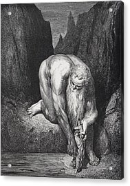 Engraving By Gustave Dore 1832-1883 Acrylic Print