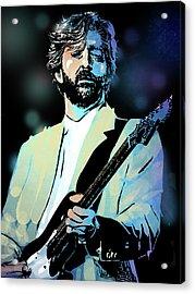 Eric Clapton Acrylic Print by Paul Sachtleben