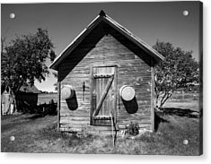 2 Eyed Shed Acrylic Print by Stephen Mack
