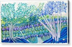 Field Of Dreams  Acrylic Print by Ione Citrin