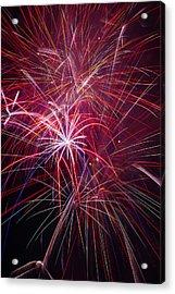 Fireworks Exploding Acrylic Print