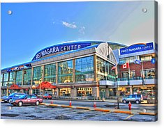 First Niagara Center Acrylic Print by Michael Frank Jr