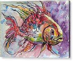 Fish Acrylic Print by Kovacs Anna Brigitta
