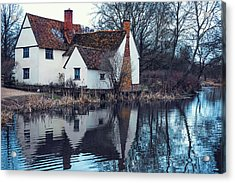 Flatford Mill Acrylic Print by Svetlana Sewell
