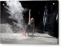 Flour Dancing Series Acrylic Print by Cindy Singleton