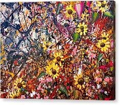 Flourish Detail Acrylic Print