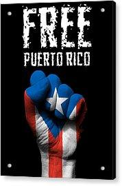 Free Puerto Rico Acrylic Print