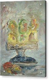 Fruit Basket Acrylic Print by Edward Wolverton