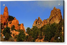 Garden Of The Gods Acrylic Print by Patrick  Short