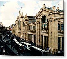 Gare Du Nord Acrylic Print by Diana Moya