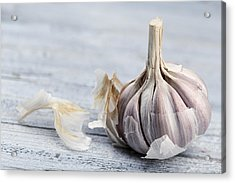 Garlic Acrylic Print by Nailia Schwarz