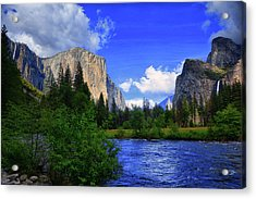 Gates Of The Valley Acrylic Print