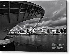 Gateshead Millennium Bridge Acrylic Print by Nichola Denny
