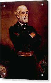 General Robert E. Lee 1807-1870 Acrylic Print by Everett