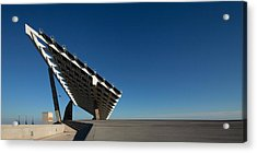 Giant Solar Panel, Parc Del Forum Acrylic Print by Panoramic Images