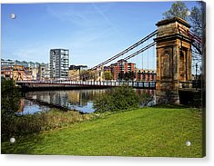 Acrylic Print featuring the photograph Glasgow by Jeremy Lavender Photography