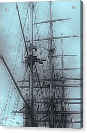 Acrylic Print featuring the photograph Gorch Fock ... by Juergen Weiss