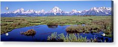 Grand Teton Park, Wyoming, Usa Acrylic Print