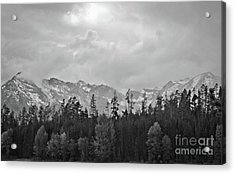 Grand Tetons Acrylic Print by Brent Parks