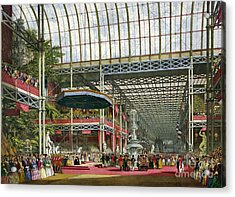 Great Industrial Exhibition Opening Acrylic Print