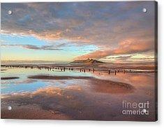 Great Salt Lake Sunset Acrylic Print