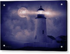 Guiding Lights Acrylic Print by George Robinson