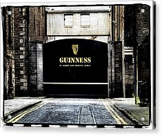 Guinness Acrylic Print by David Harding